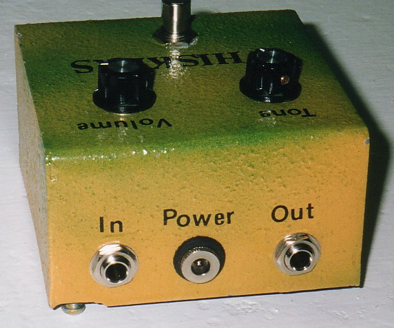 """some pedals won't need to have the jack isolated from the enclosure because  they have a """"positive negative positive"""" (pnp) transistor circuit"""
